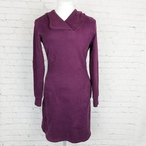 Toad & Co.|NWT Purple Sweatshirt Dress